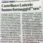 Giornale di Vicenza - 10 ottobre 2014
