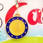 Il Caseificio Castellan al Caseus Veneti 2014 - Medaglia d'oro con lo Stracchino e medaglia di Bronzo con il Biancone