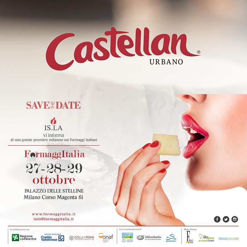 Castellan a Formaggitalia 2017
