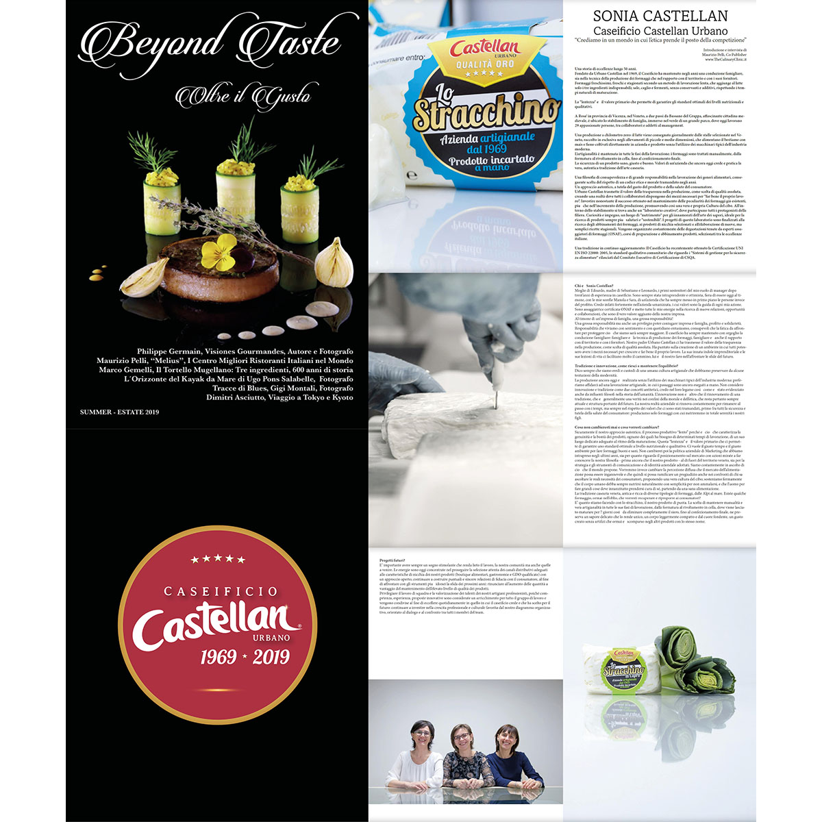 Beyond Taste Oltre il Gusto Magazine Edizione Estate intervista Sonia Castellan