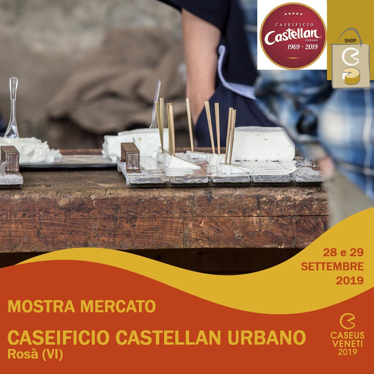 Caseificio Castellan Urbano Caseus Veneti 2019
