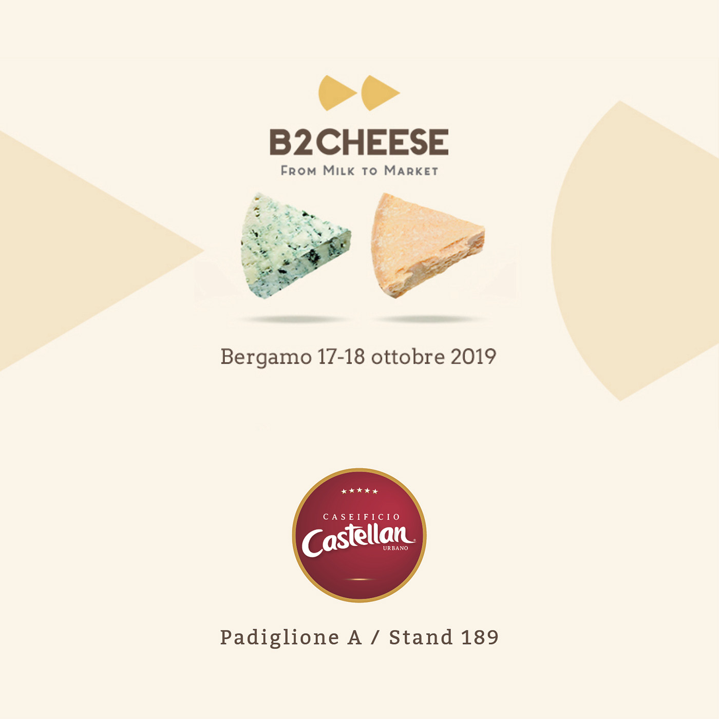 Caseificio Castellan B2Cheese 2019