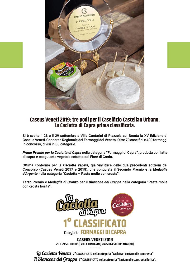 Caseificio Castellan Urbano_CaseusVeneti2019