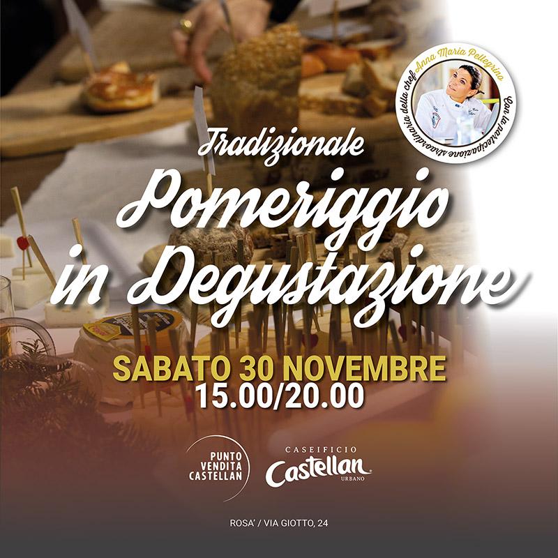 Tradizionale Pomeriggio in Degustazione Caseificio Castellan Urbano 2019