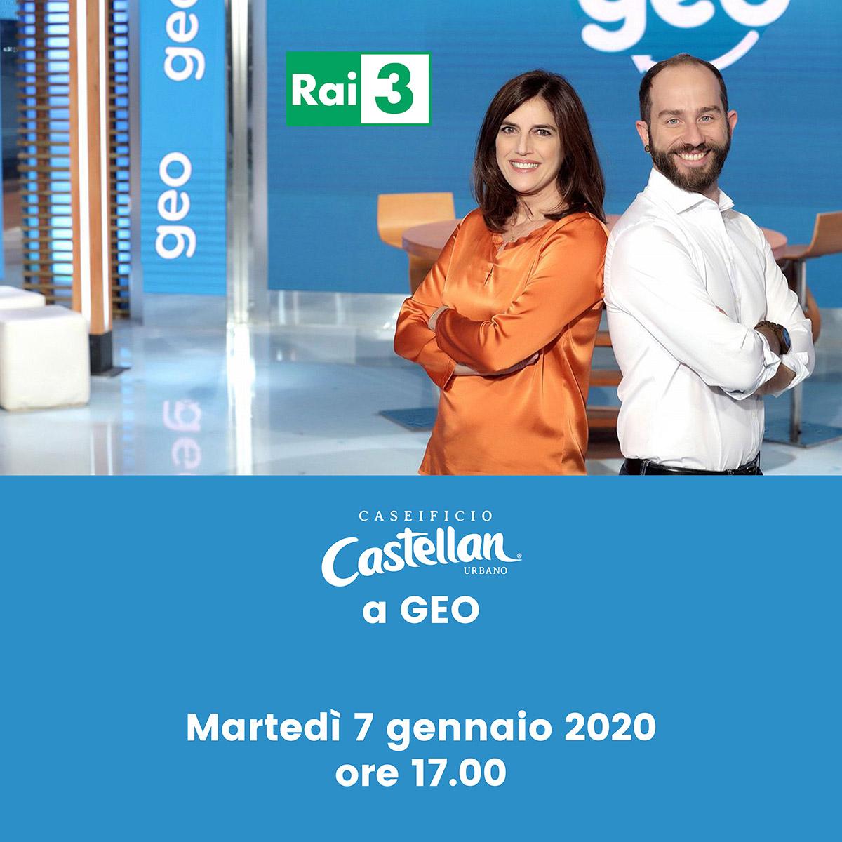GEO Caseificio castellan Rai3