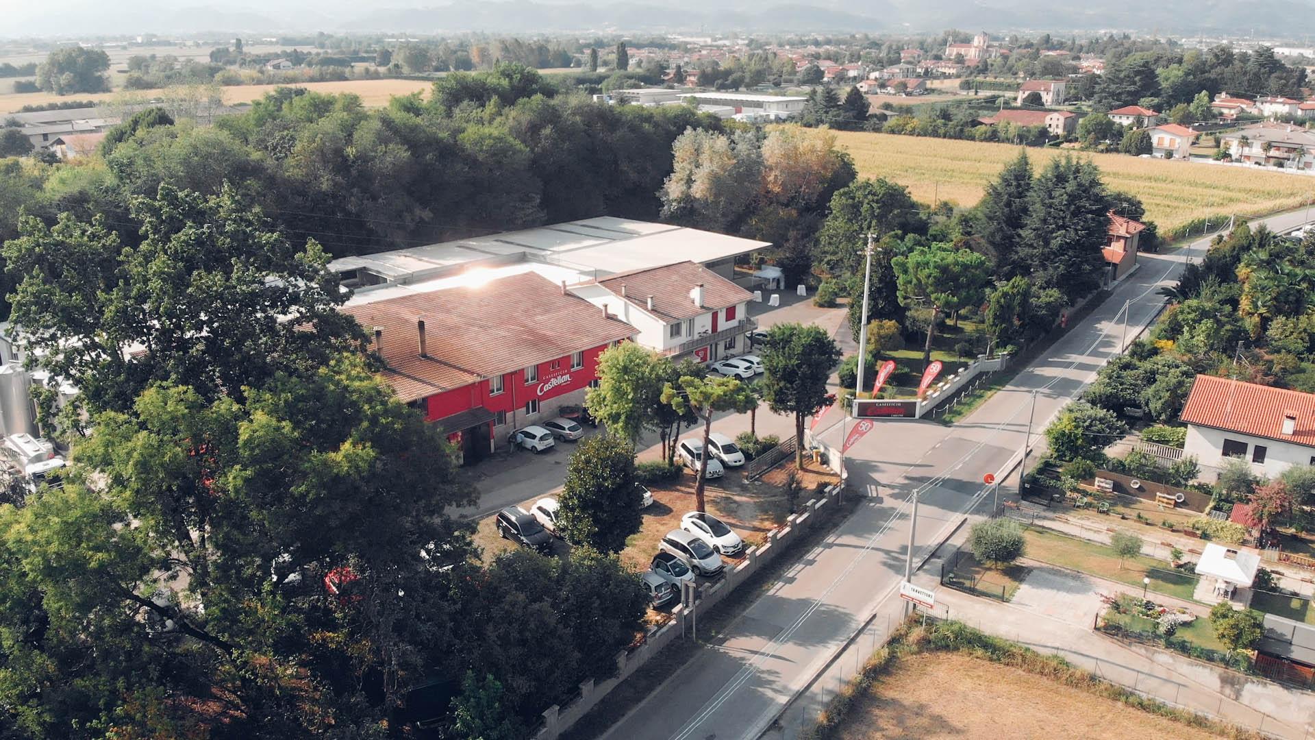 Il Caseificio Castellan Urbano Rosà Vicenza